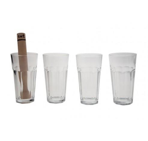 COCKTAILSET MOJITO 4X GLAS + STAMPER  Cosy & Trendy