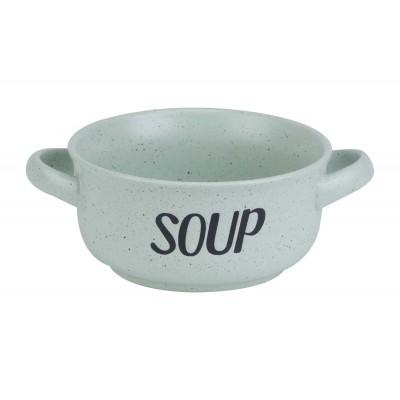 SOUP GREEN SOEPKOMMETJE 'SOUP' D13,5CM