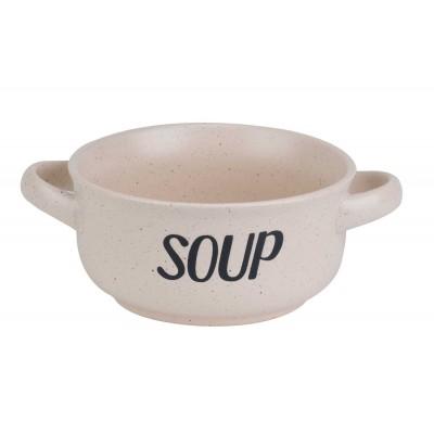 SOUP CREAM SOEPKOMMETJE 'SOUP' D13,5CM