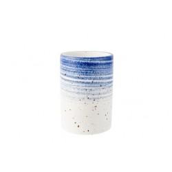 SPLENDIDO BLUE BEKER D6,5XH9,5CM