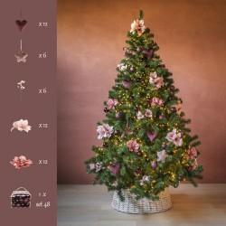 Kerstboompakket Café Latte  Cosy & Trendy