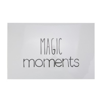PLACEMAT FP LICHTGRIJS MAGIC MOMENTS ZWA