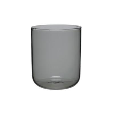 BOROSILICATE GLAS ZWART 31CL SET 6  Cosy & Trendy