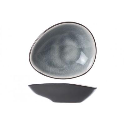 Streetfood Blue-grey Bord Ov 6.9x5.9cm