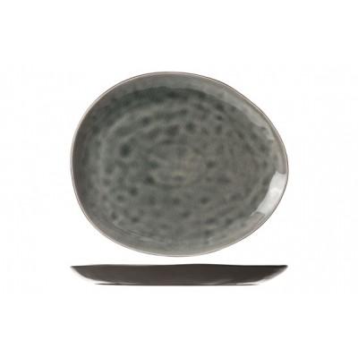 Streetfood Blue-grey Bord Ov 19.5x16cm