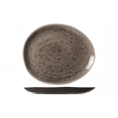 Streetfood Grey Bord Ov 15x11.5cm