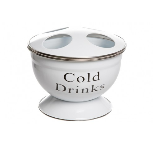 COLD DRINKS FLESKOELER VR 4 FLESSEN WIT  Cosy & Trendy