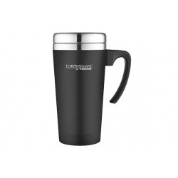 SOFT TOUCH TRAVEL MUG ZWART 420ML