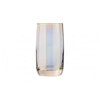 SHINY GOLD GLAS 33CL SET4 FH