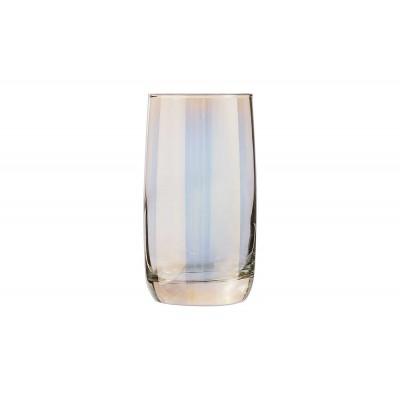 SHINY GOLD GLAS 33CL SET4 FH  Luminarc