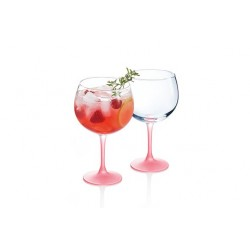 TECHNO SUMMER COCKTAILGLAS ROZE  70CL