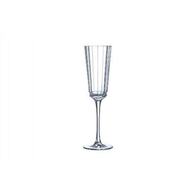 Macassar Champagneglas 17cl Set 6  Cristal d'Arques