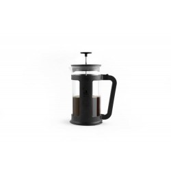 FRENCH PRESS 1L BOROSOLICAAT ZWART
