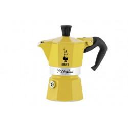 MOKINA PRIMAVERA KOFFIEMAKER GEEL 3 CUPS