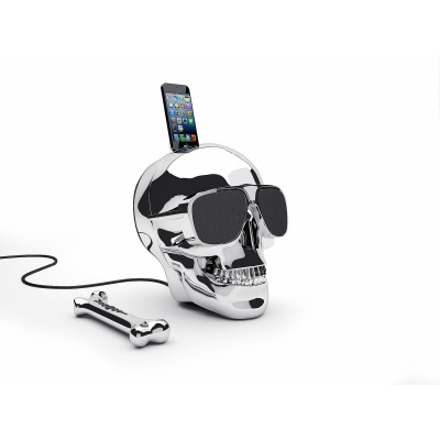 AeroSkull HD+ Chrome Silver Jarre