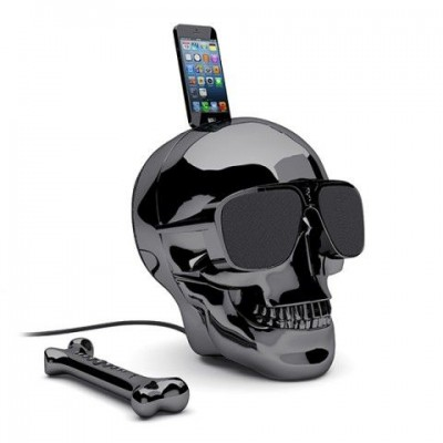 AeroSkull HD+ Chrome Black Jarre