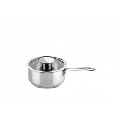 Gourmet steelpan 16cm m/deksel 1,4l