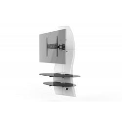 Ghost design 2000 wandkast dubbele arm beugel VESA 200/300/400 wit  Meliconi