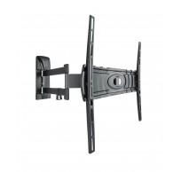 Curved 400 DR muurbeugel wendbaar dubbele arm voor 32-80 inch tv zwart