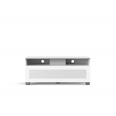Mobile tv 12040H tv stand 120x40cm glas wit  Meliconi