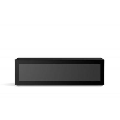 Mobile tv 16050F tv stand 160x40cm glas zwart  Meliconi