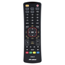 Smart 4 universele afstandsbediening smart tv 4 in 1 Qwerty air mouse zwa  Meliconi