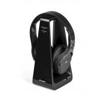 HP DIGITAL draadloze on-ear HPH tv & laadstation zwart