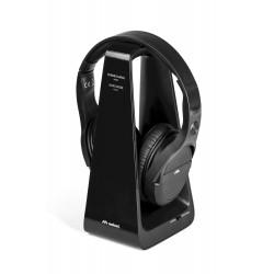 HP DIGITAL draadloze on-ear HPH tv & laadstation zwart  Meliconi