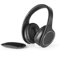 HP EASY draadloze on-ear HPH tv & laadstation zwart  Meliconi