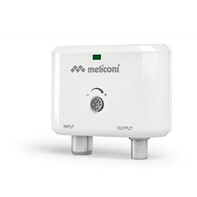 AMP 20 MINI indoor luchtsignaal versterker 25 dB 4G/LTE filter wit  Meliconi