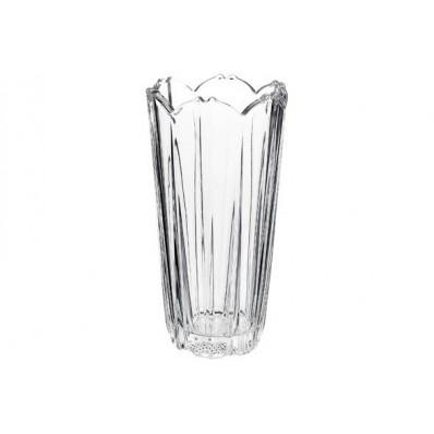 COROLLA VAAS 23 CM TRANSPARANT ROND GLAS