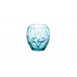 ORIENTE COOL BLUE  WATERGLAS 40 CL SET 6