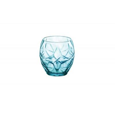 ORIENTE COOL BLUE  WATERGLAS 40 CL SET 6