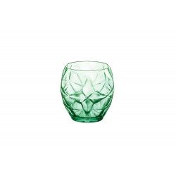 ORIENTE GREEN WATERGLAS 40CL SET 6