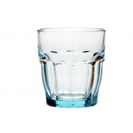 ROCK BAR TUMBLER ICE BLUE 27CL SET6