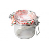 Fido Klempot 0,2l Rond Witte Ring