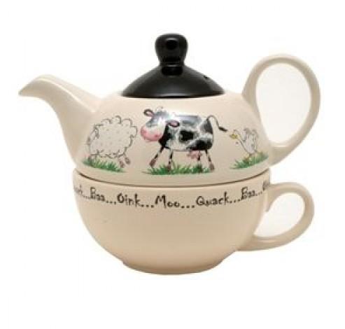 Tea For One met kop Home Farm 400ml   Price & Kensington