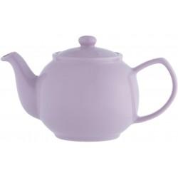 6-kops theepot glanzend lavendel  Price & Kensington
