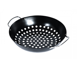 Round Grill Wok Big Green Egg