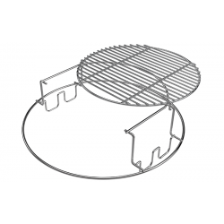 2-piece Multi Level Rack Large Big Green Egg