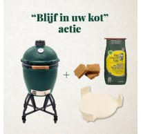 Large Big Green Egg + GRATIS BBQSET