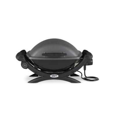 Q 1400 elektrische barbecue donkergrijs  Weber