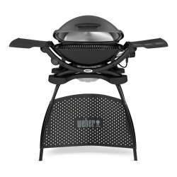 Q 2400 Elektrische barbecue met stand Dark Gray
