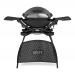 Q 2400 Elektrische barbecue met stand Dark Gray