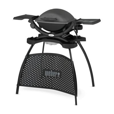 Q 1400 elektrische barbecue met stand Dark Gray  Weber