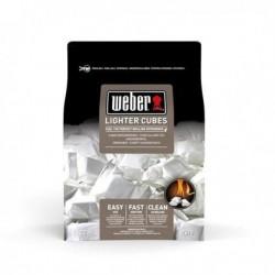 Weber® Aanmaakblokjes, 22 stuks, wit