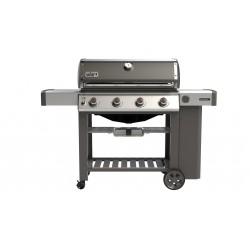 Genesis II E-410 GBS Gasbarbecue Smoke Grey