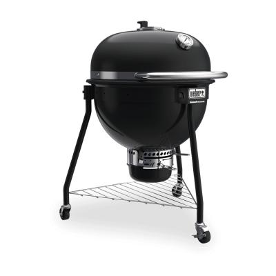 Summit® Kamado E6 Charcoal Grill Black  Weber