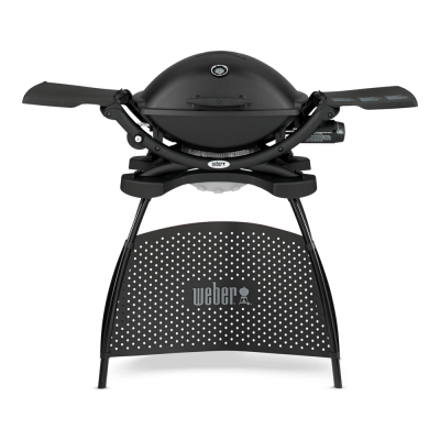 Q 2200 gasbarbecue With Stand Black  Weber