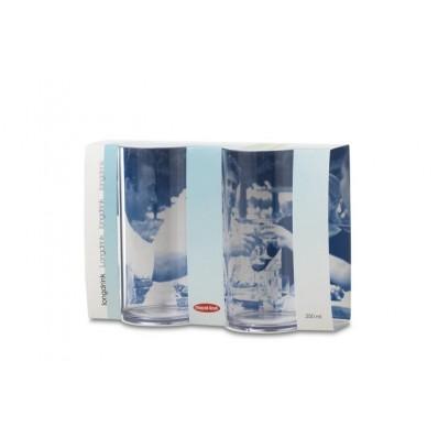 Longdrinkglas set van 2 stuks